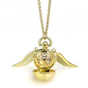 Harry Potter - náhrdelník - hodinky Zlatá Střela