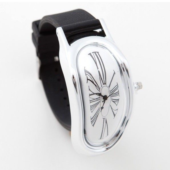 2ba3a916adc Tekoucí hodinky Dalí